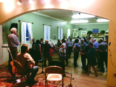 From the March 28th dance at the Altona Grange