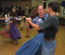 Dancers at the Westminster Grange